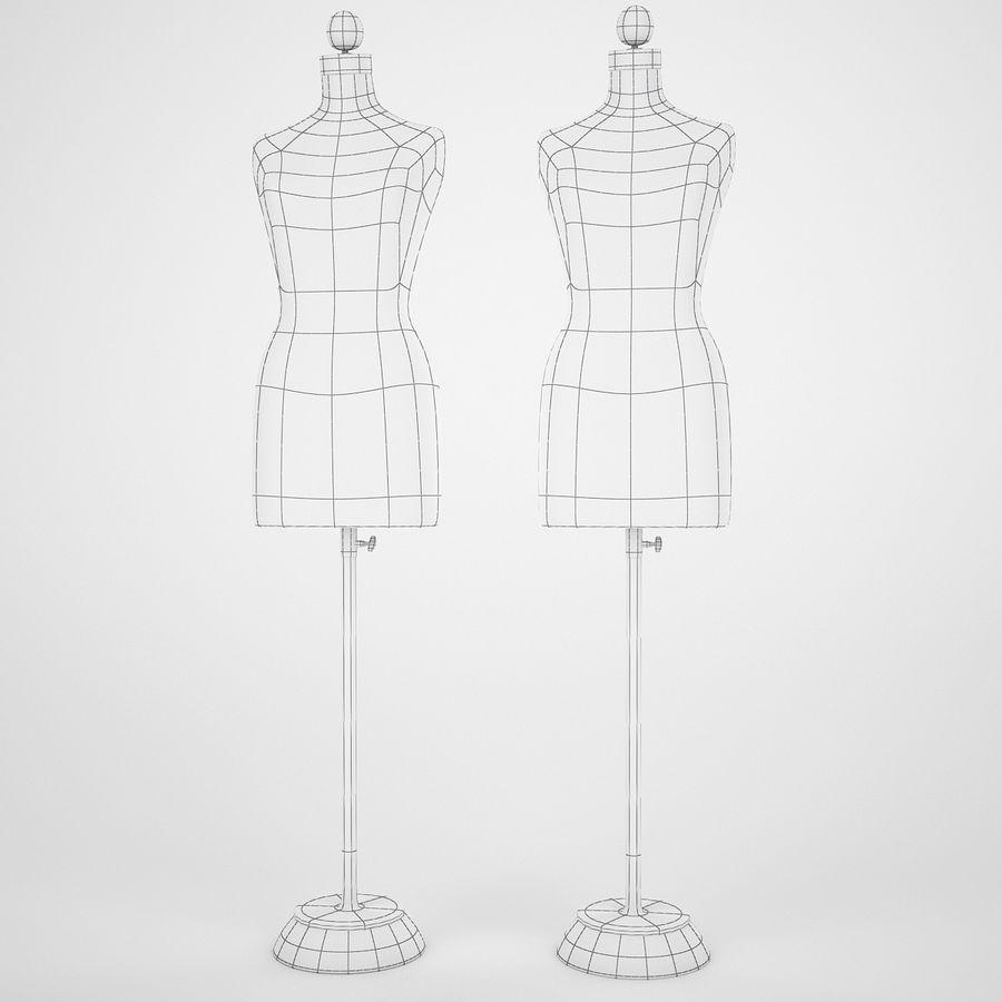 Женские манекены royalty-free 3d model - Preview no. 10