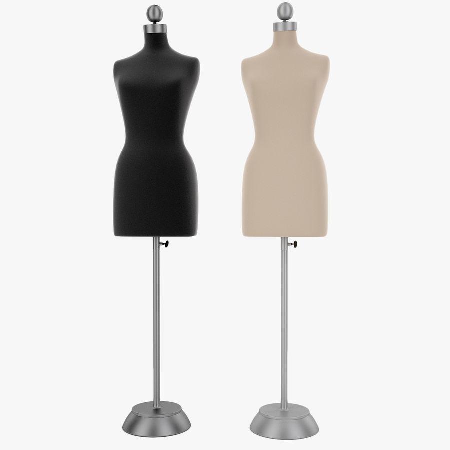 Женские манекены royalty-free 3d model - Preview no. 1