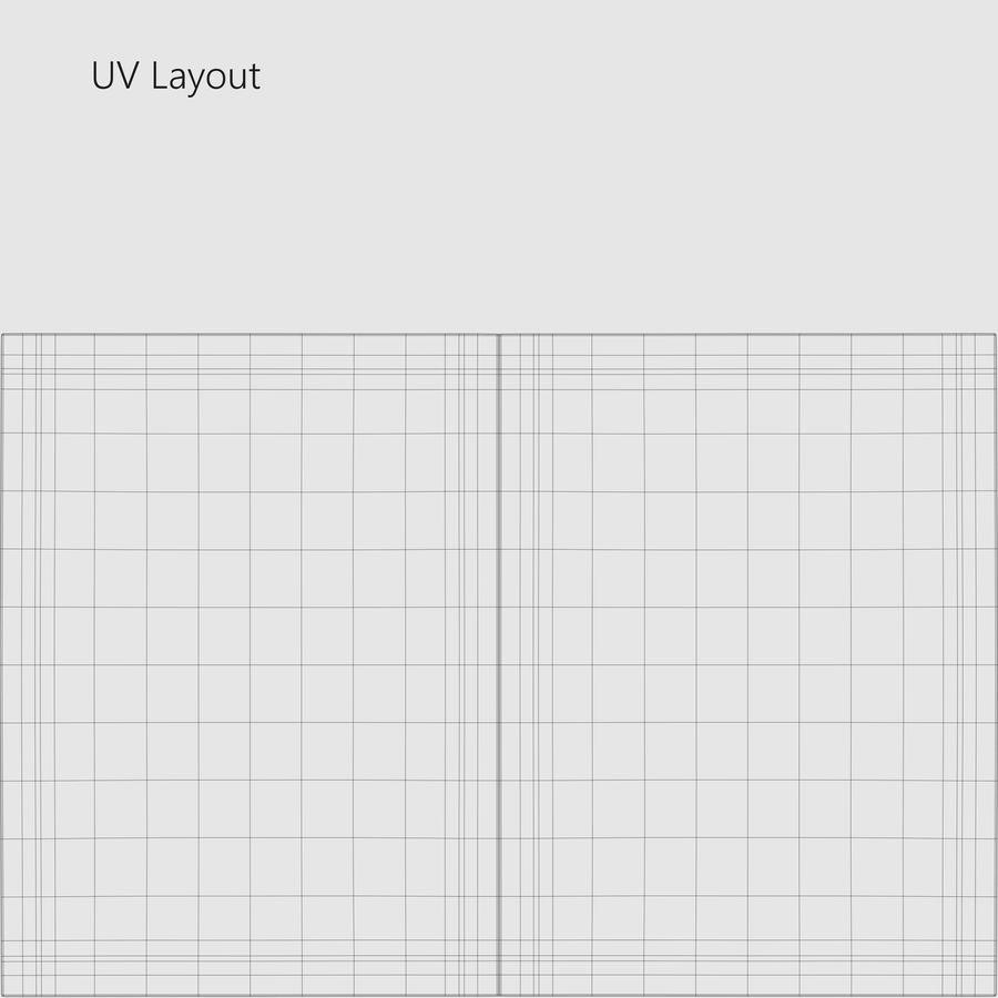 Sample Sachet v2 royalty-free 3d model - Preview no. 13