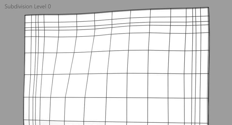 Sample Sachet v2 royalty-free 3d model - Preview no. 11