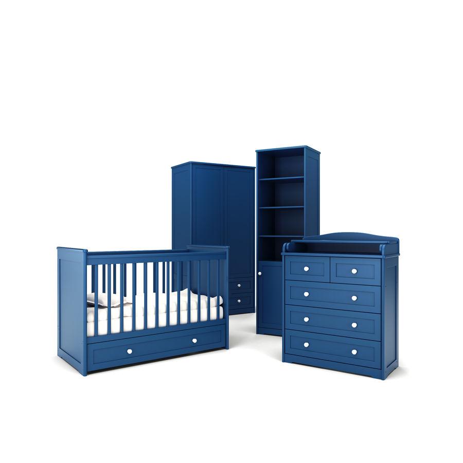 Conjunto de muebles para niños. royalty-free modelo 3d - Preview no. 4
