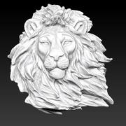 狮子 3d model