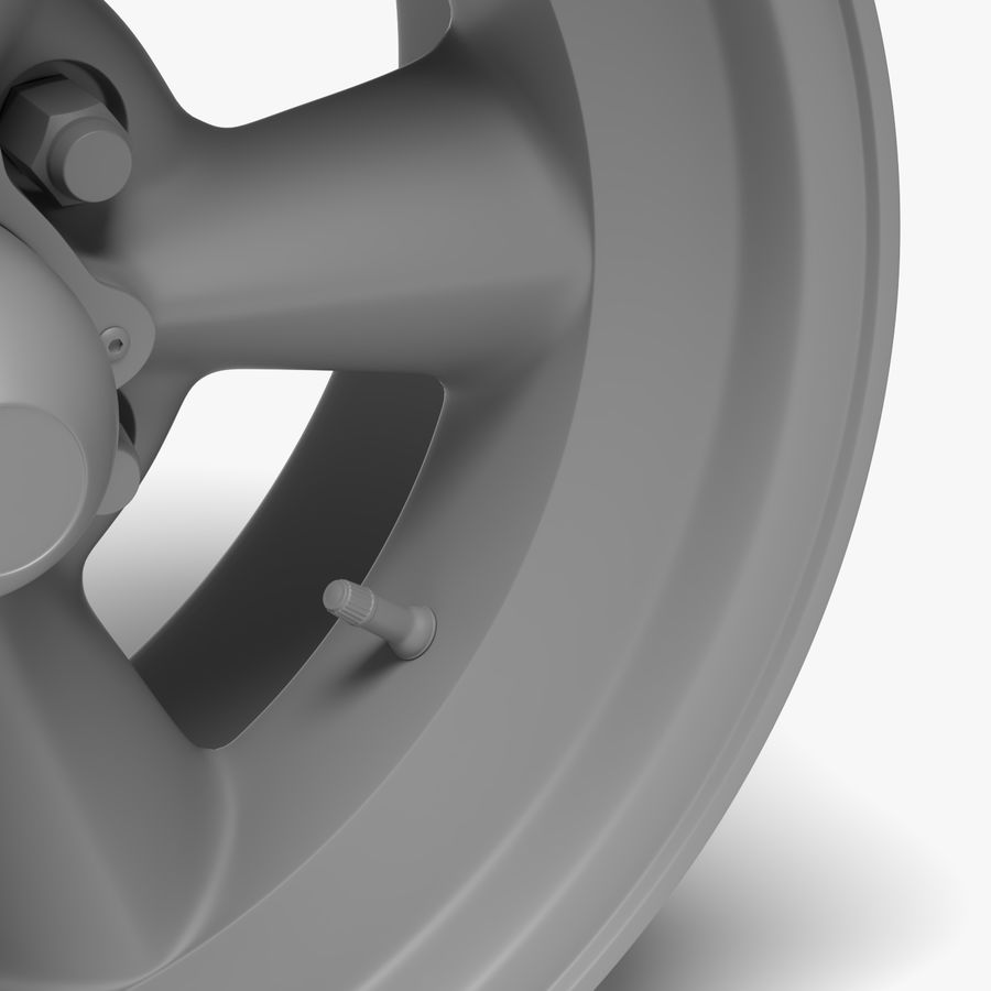 Torq Thrust Wheel royalty-free 3d model - Preview no. 5
