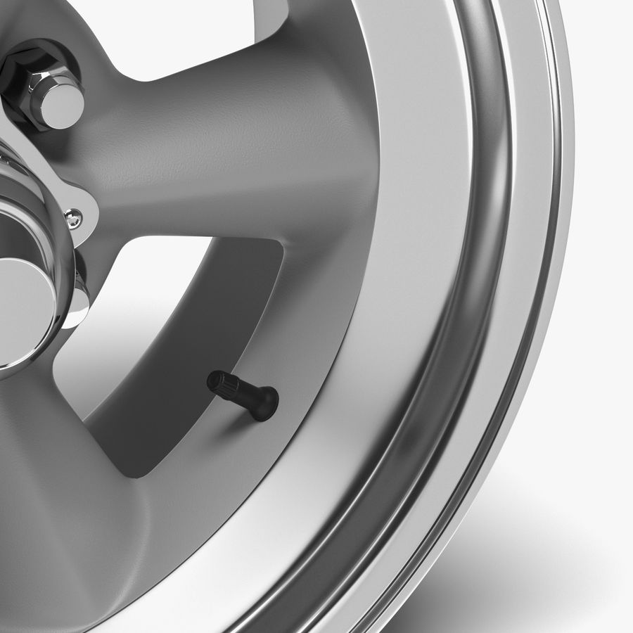 Torq Thrust Wheel royalty-free 3d model - Preview no. 4
