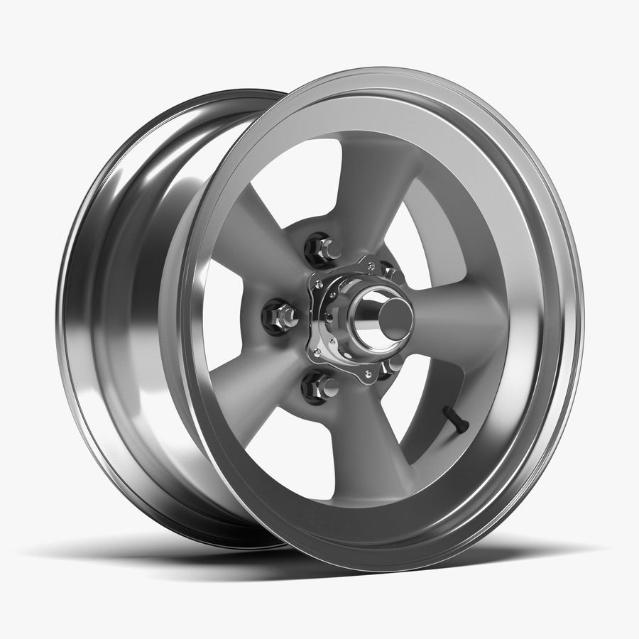Torq Thrust Wheel royalty-free 3d model - Preview no. 1