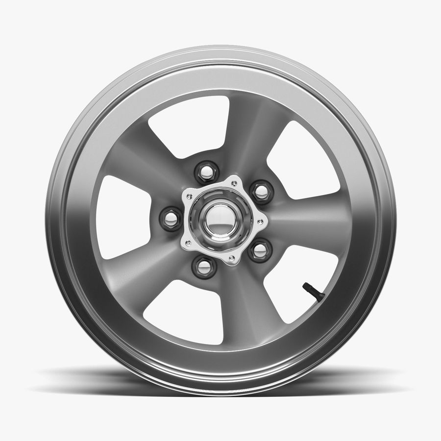 Torq Thrust Wheel royalty-free 3d model - Preview no. 2