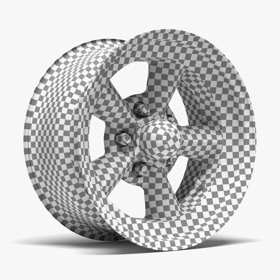 Torq Thrust Wheel royalty-free 3d model - Preview no. 9