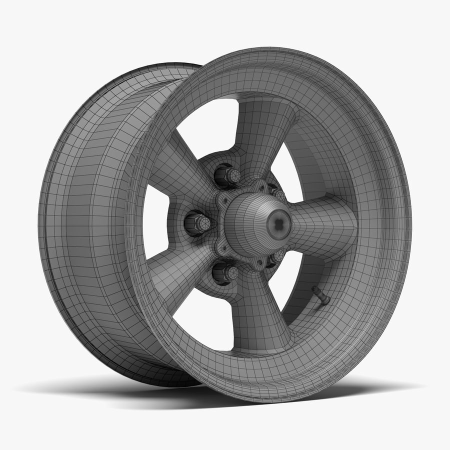 Torq Thrust Wheel royalty-free 3d model - Preview no. 8