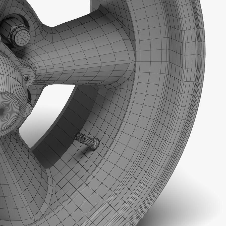 Torq Thrust Wheel royalty-free 3d model - Preview no. 6