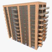 Gebäude modern 01 3d model