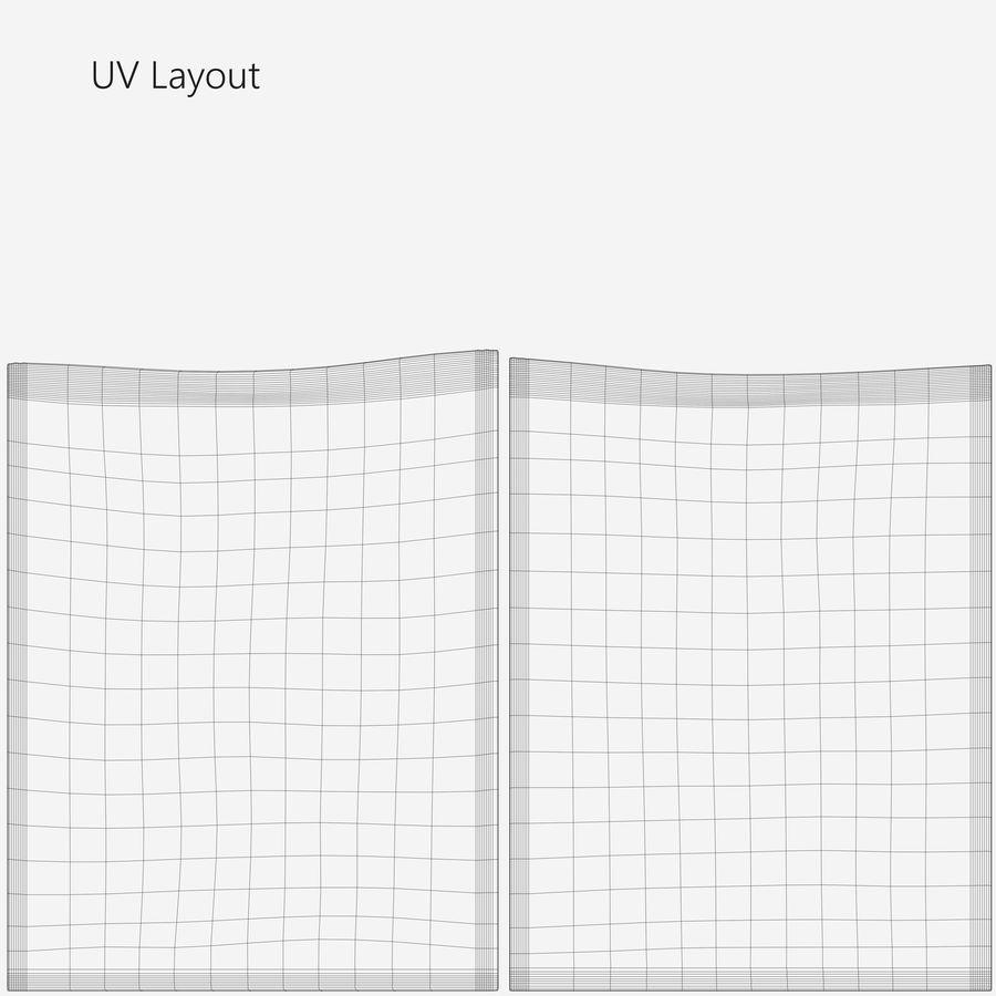 Sample Sachet v4 royalty-free 3d model - Preview no. 13