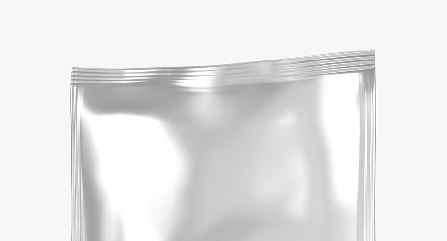 Sample Sachet v4 royalty-free 3d model - Preview no. 7