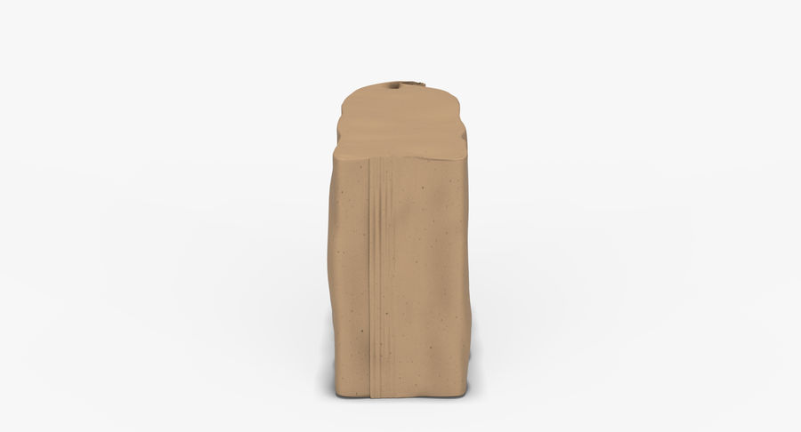 Paper Bag v2 royalty-free 3d model - Preview no. 8