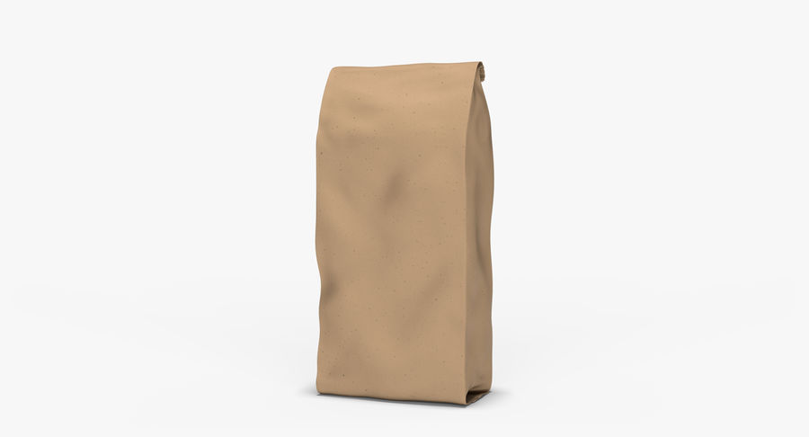 Paper Bag v2 royalty-free 3d model - Preview no. 2