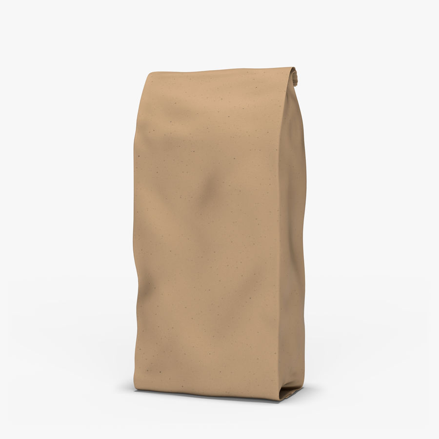Paper Bag v2 royalty-free 3d model - Preview no. 1