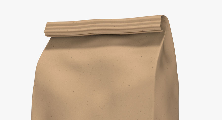 Paper Bag v2 royalty-free 3d model - Preview no. 7