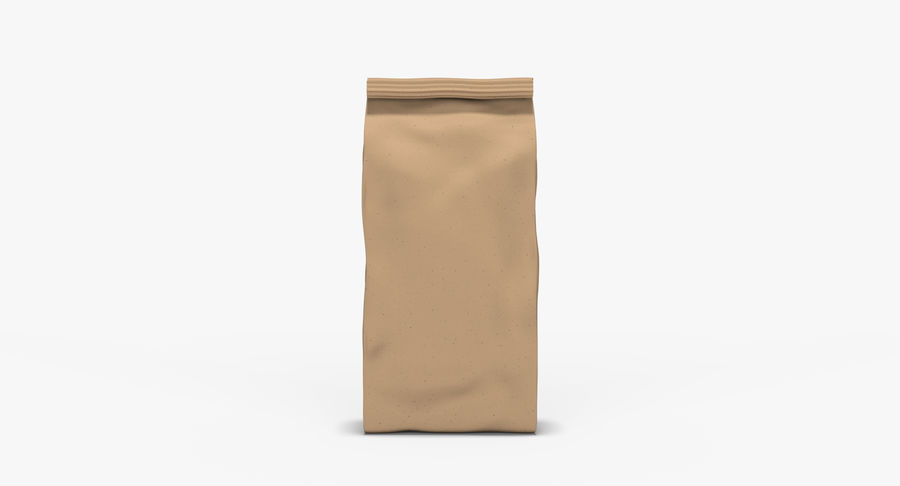 Paper Bag v2 royalty-free 3d model - Preview no. 5