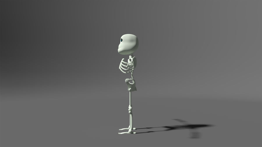 Bones royalty-free 3d model - Preview no. 4