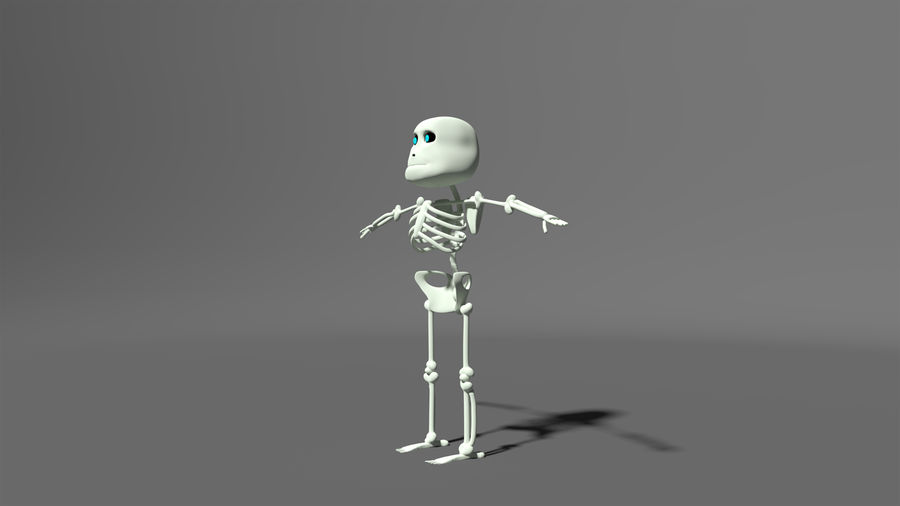 Bones royalty-free 3d model - Preview no. 3