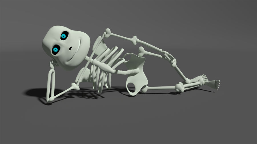 Bones royalty-free 3d model - Preview no. 1