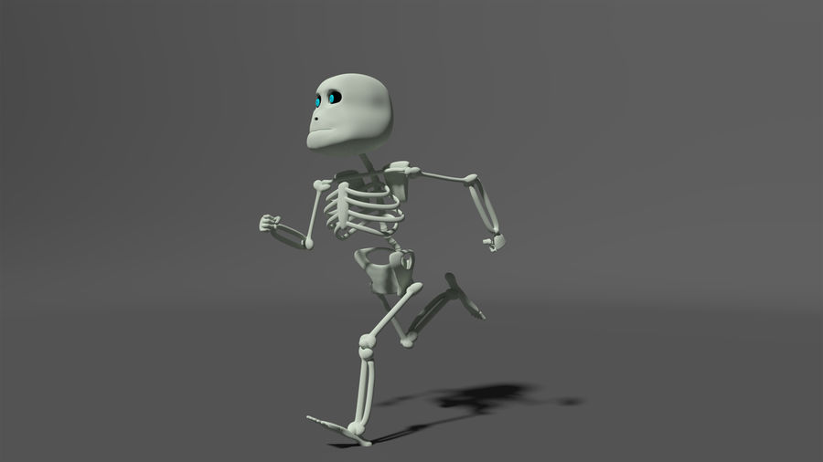 Bones royalty-free 3d model - Preview no. 5