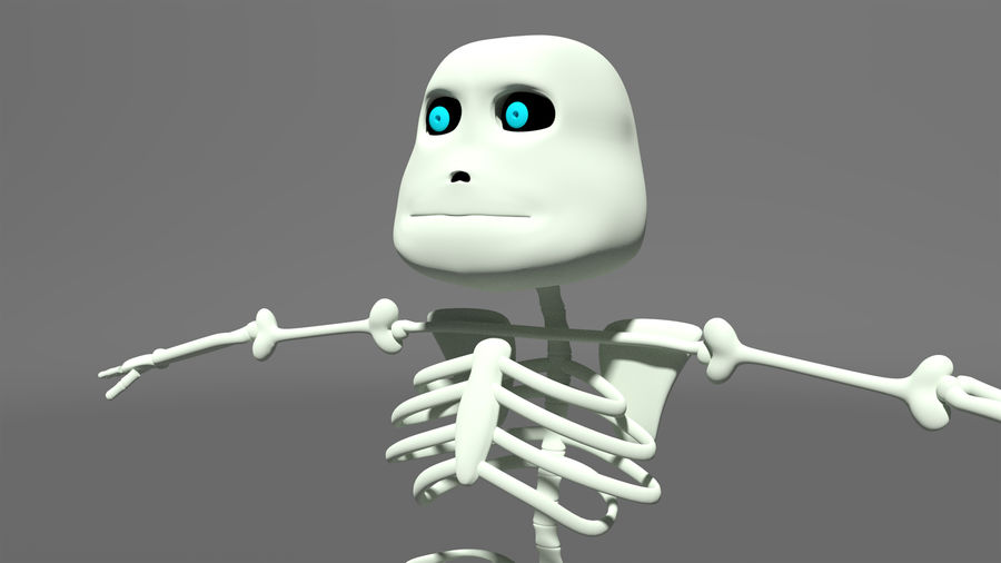 Bones royalty-free 3d model - Preview no. 7