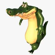 Cartoon Croc 3d model