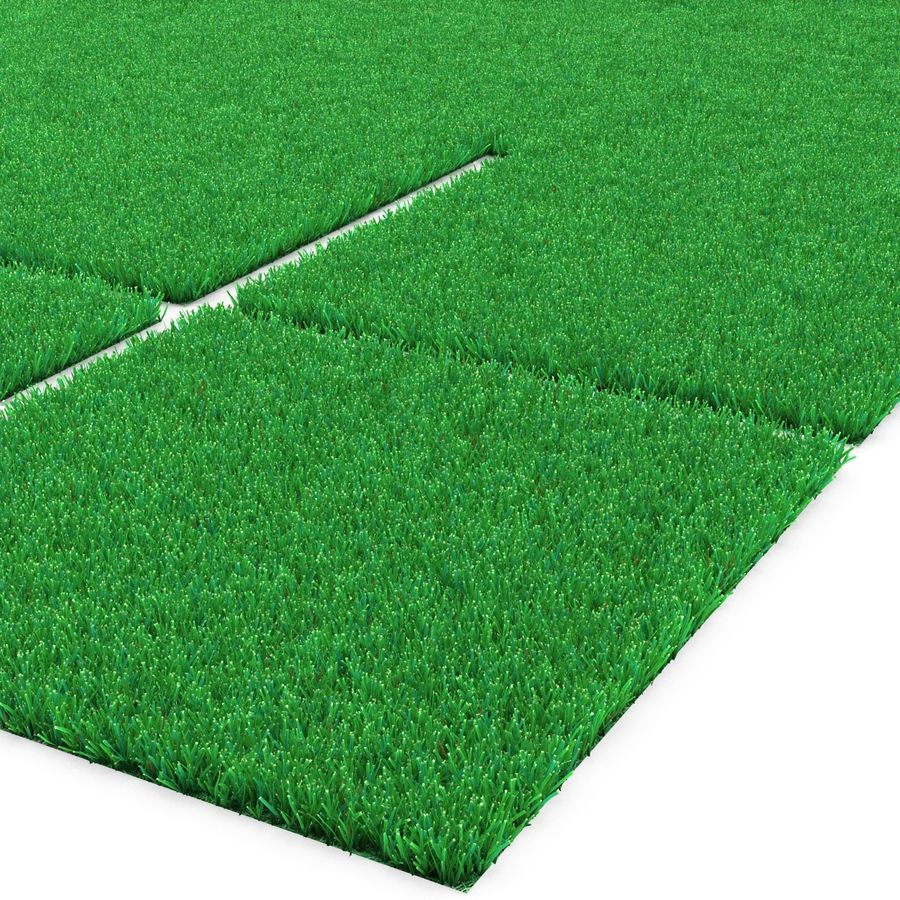 Grass Fields Collection 2 royalty-free 3d model - Preview no. 10