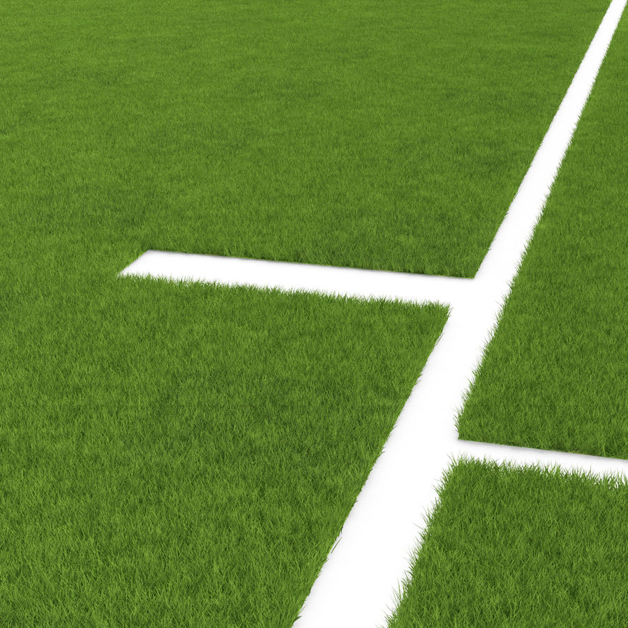 Grass Fields Collection 2 royalty-free 3d model - Preview no. 9