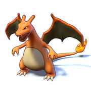 Charizard Pokemon 3d model