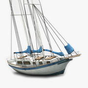 Sailboat 2 3d model