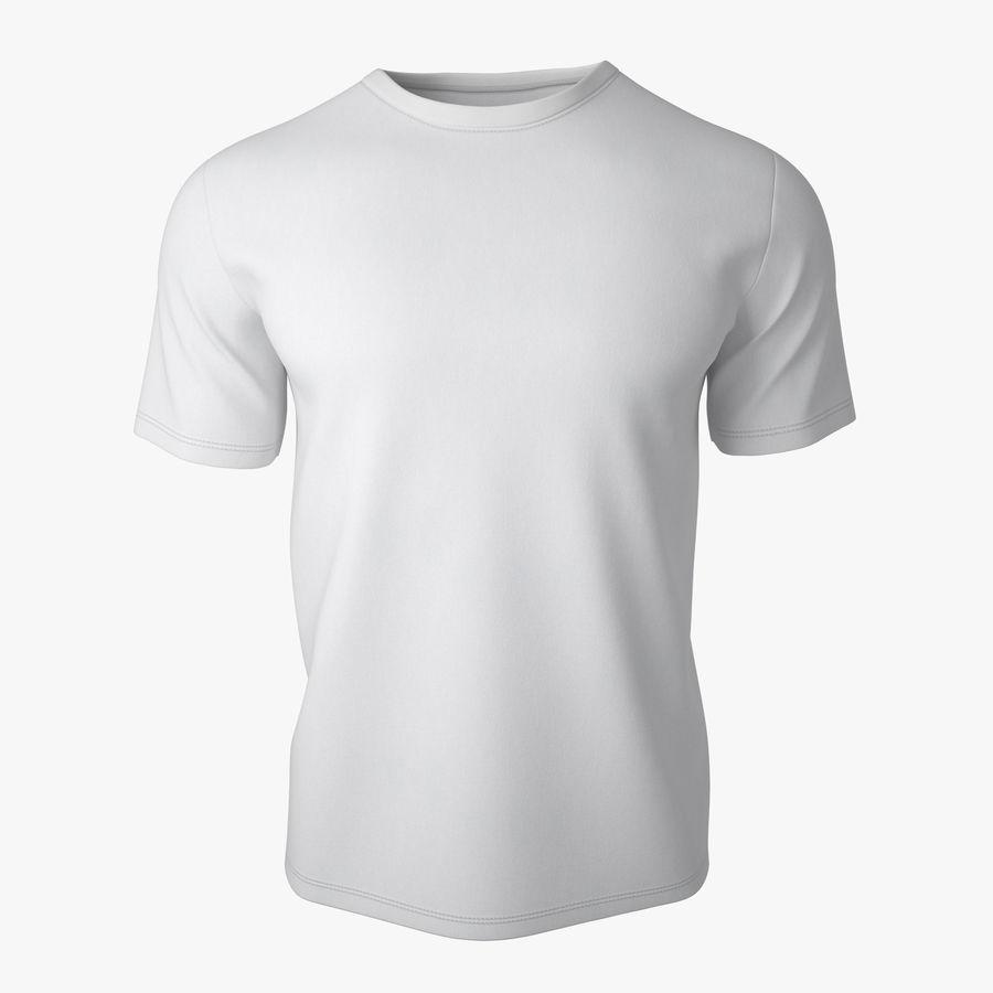 T Shirt V2 royalty-free 3d model - Preview no. 1