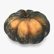 Green Pumpkin 3d model