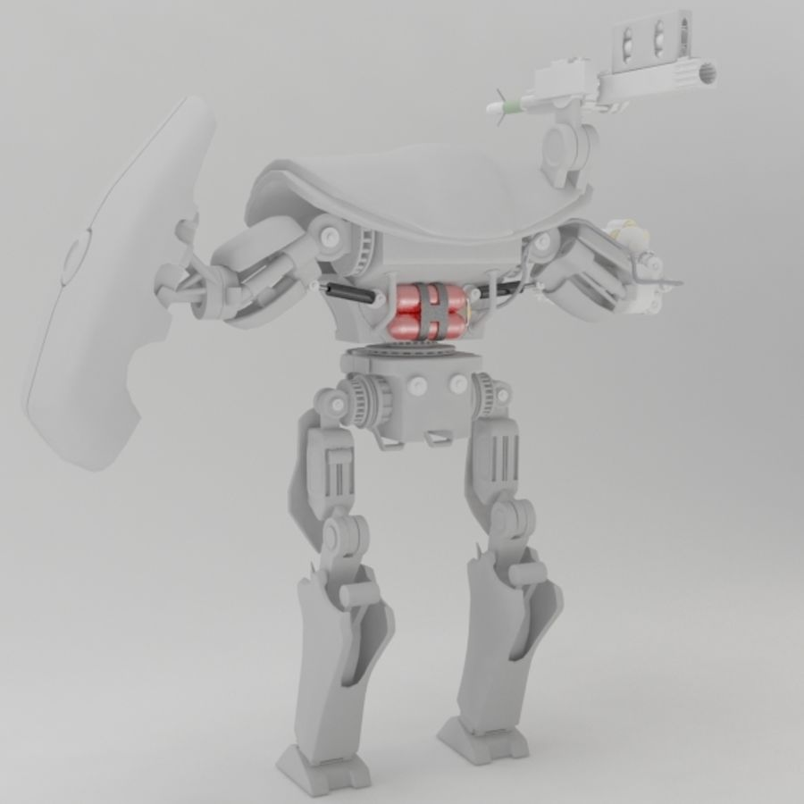 robot ty1 royalty-free 3d model - Preview no. 5