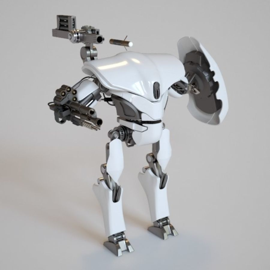 robot ty1 royalty-free 3d model - Preview no. 1