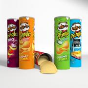 Chips de Pringles 3d model