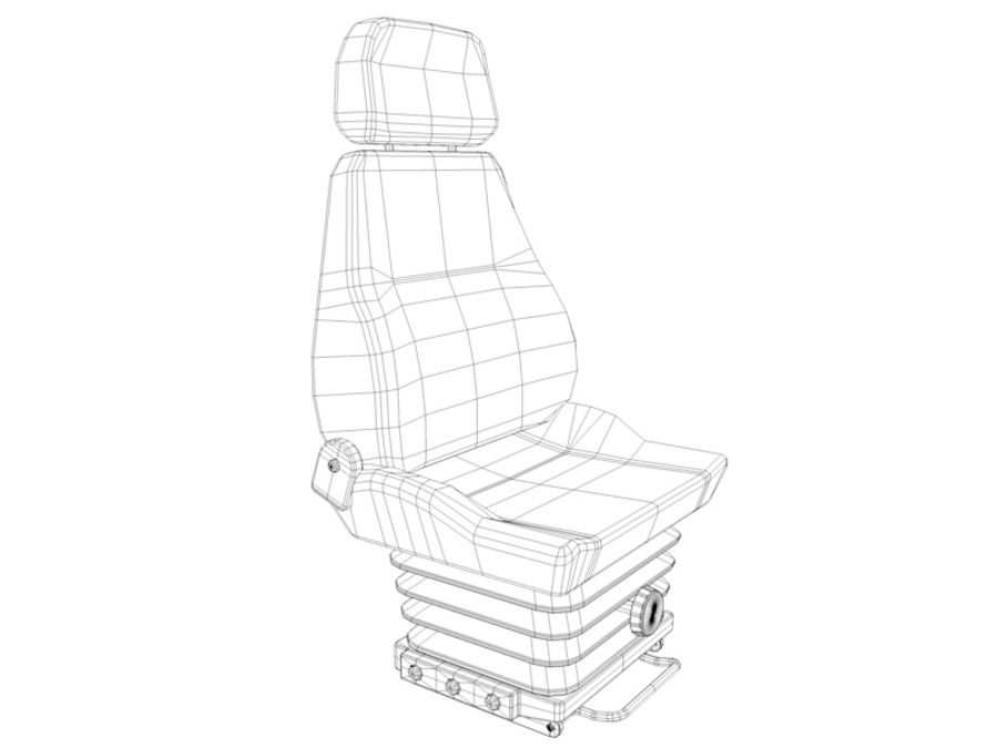 Vehicle seat royalty-free 3d model - Preview no. 6