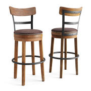 Swivel Pub Stool 3d model