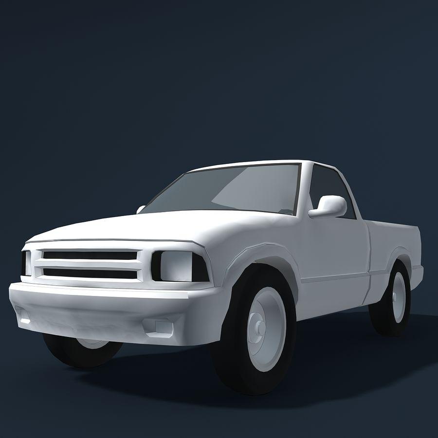 Универсальный Автомобиль royalty-free 3d model - Preview no. 10