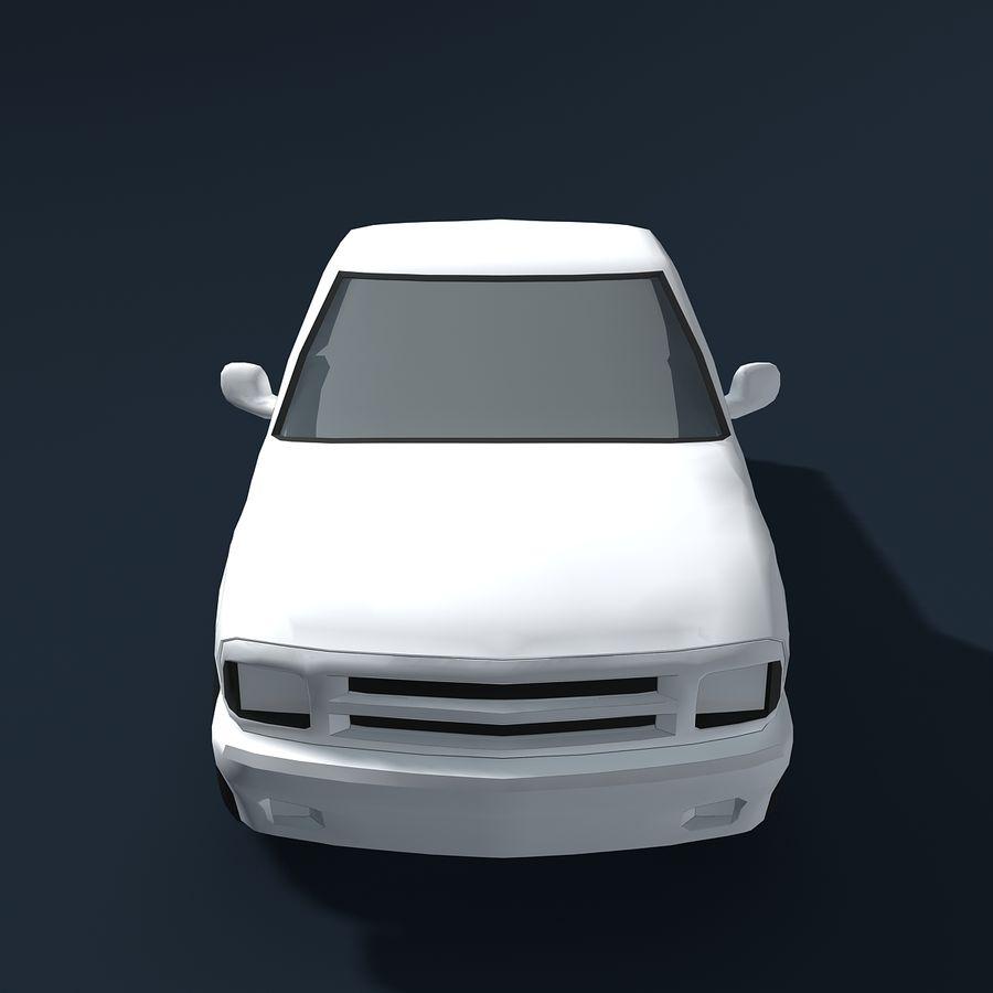 Универсальный Автомобиль royalty-free 3d model - Preview no. 3