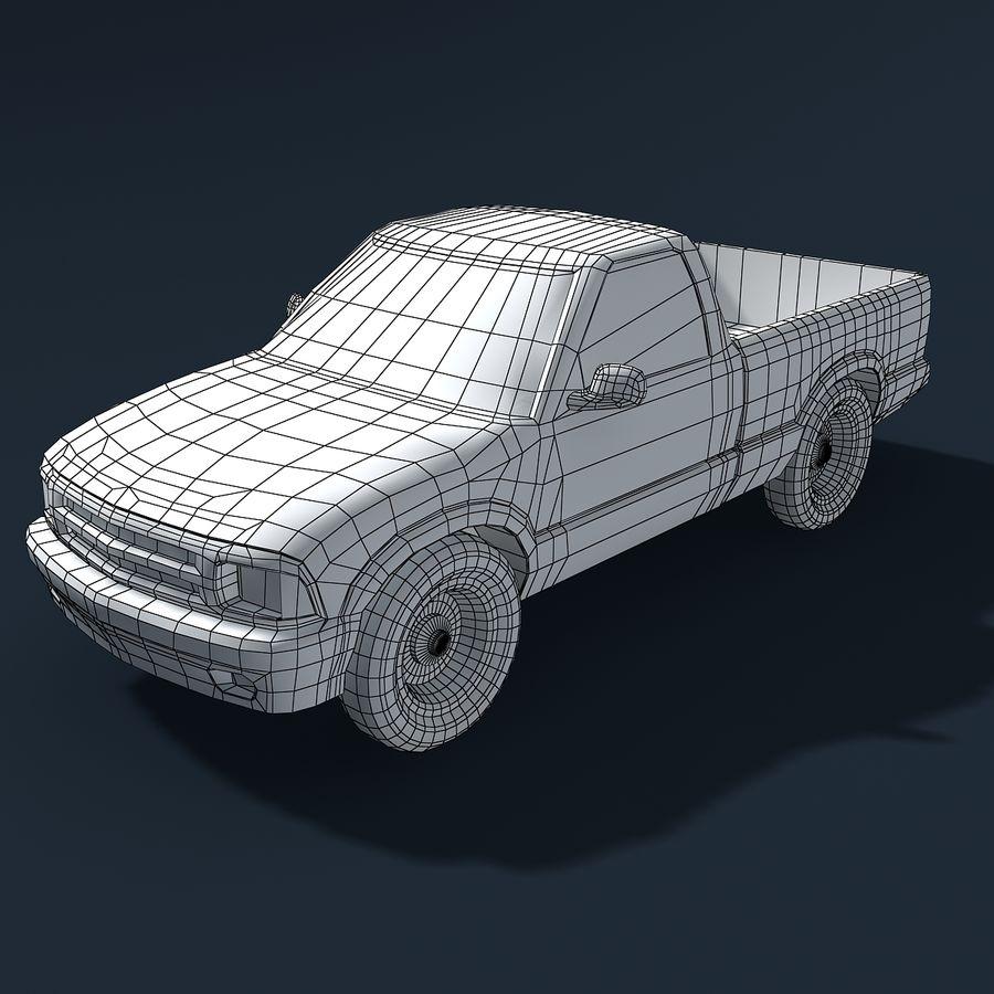 Универсальный Автомобиль royalty-free 3d model - Preview no. 5