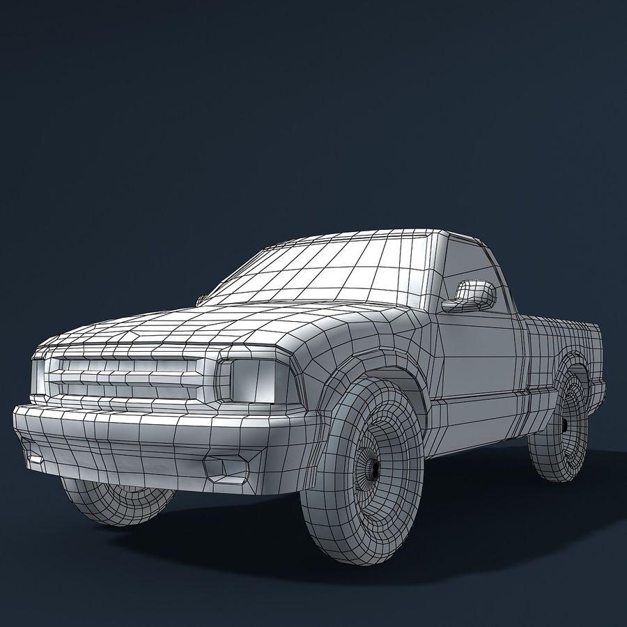 Универсальный Автомобиль royalty-free 3d model - Preview no. 11