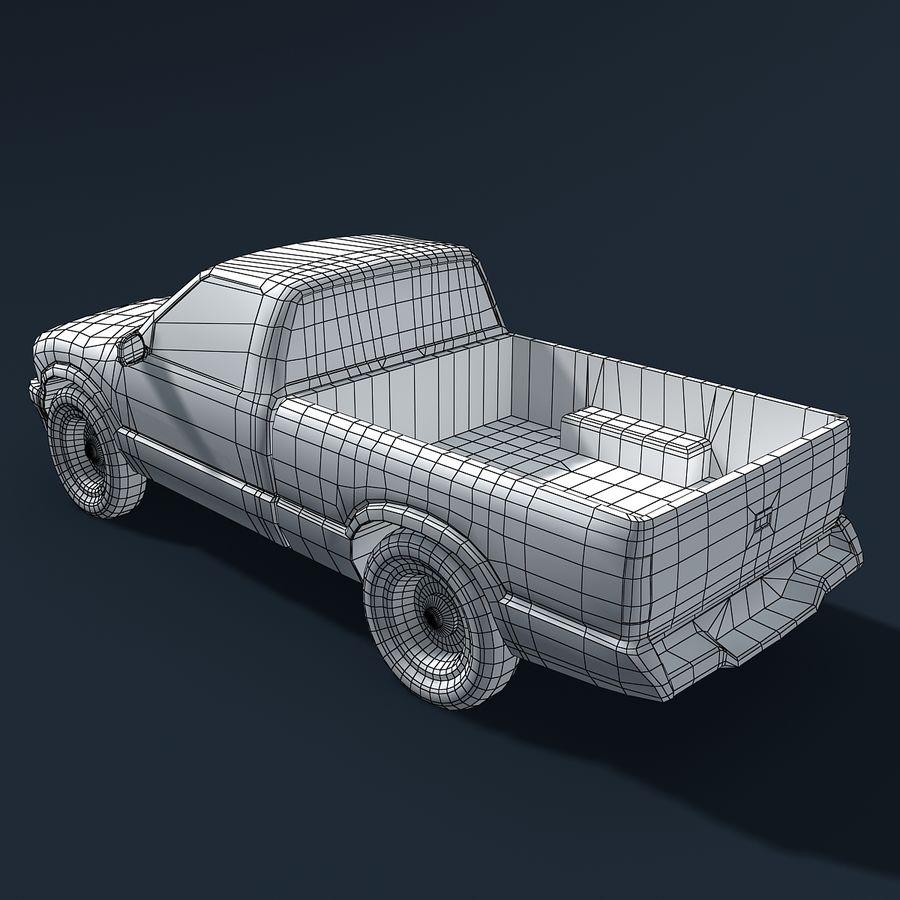 Универсальный Автомобиль royalty-free 3d model - Preview no. 7