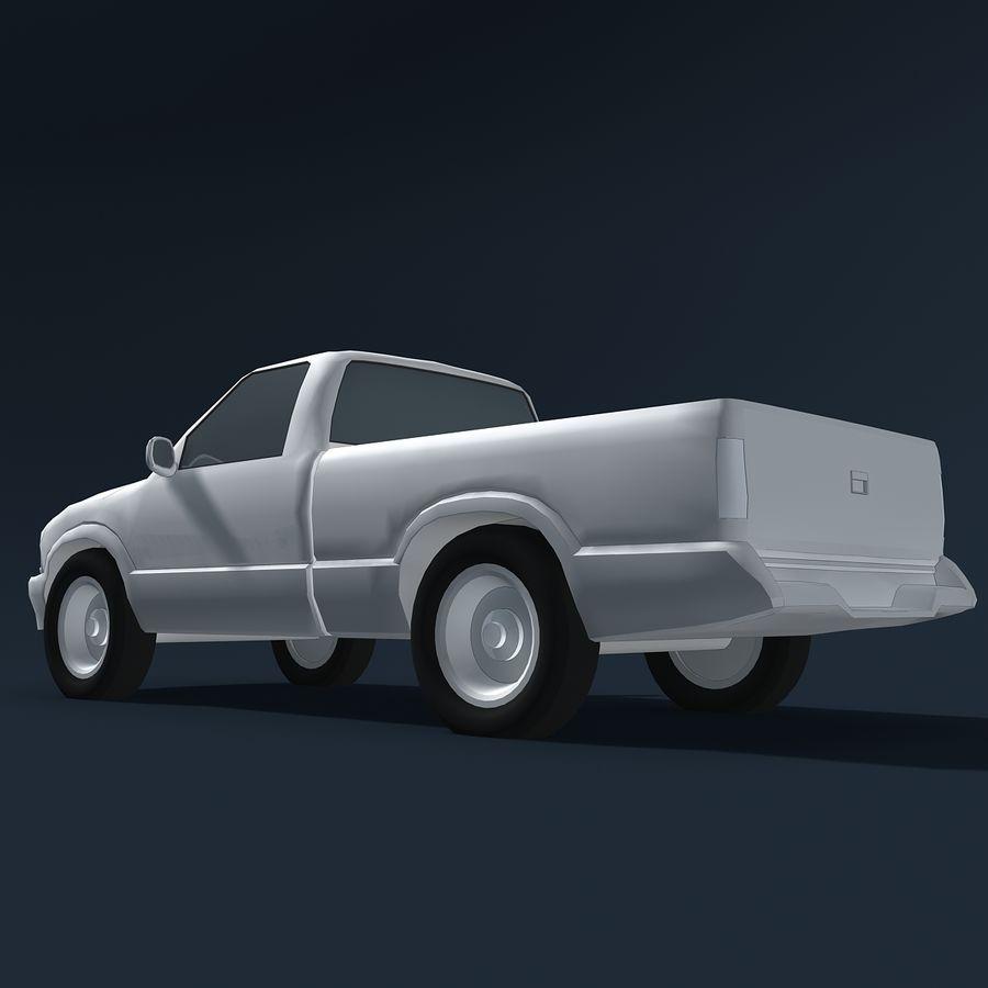 Универсальный Автомобиль royalty-free 3d model - Preview no. 8
