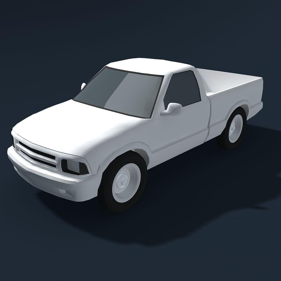 Универсальный Автомобиль royalty-free 3d model - Preview no. 4