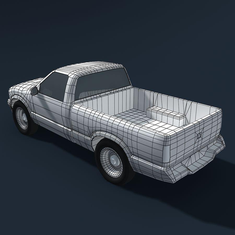 Универсальный Автомобиль royalty-free 3d model - Preview no. 6