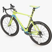 Photorealistic Giant Propel Advanced SL-2 Green-Blue Lightweight Sprinter Bicycle 3d model