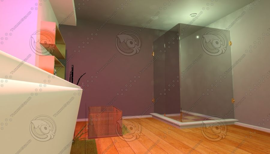 House Interior royalty-free 3d model - Preview no. 3