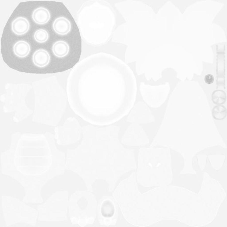 Ларри Купа- Марио Карт 8 royalty-free 3d model - Preview no. 12