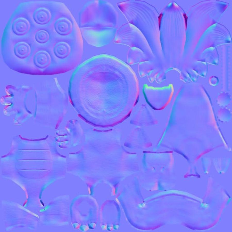 Ларри Купа- Марио Карт 8 royalty-free 3d model - Preview no. 11